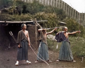 Jordan J. Lloyd, col. de Samurai Training, 1860.
