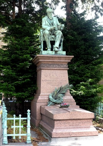 Tombeau de Zénobe Gramme (1826-1901)