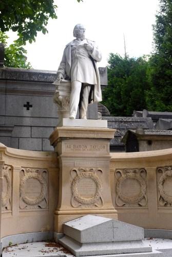 Tombeau du baron Taylor (1789-1879).