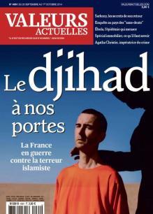 Valeurs actuelles, 25/09/2014.