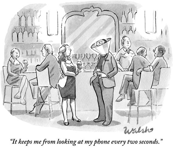 Liam Walsh, New Yorker, dessin de presse, 2014.