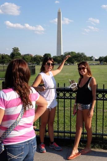 Washington memorial.