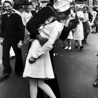 Remember the famous V-J Day kiss?