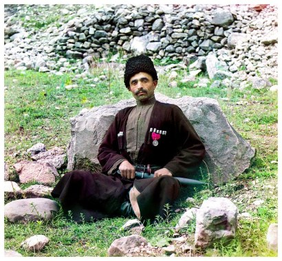 Rare Color Photos of People of the Russian Empire, ca. 1910s (11)