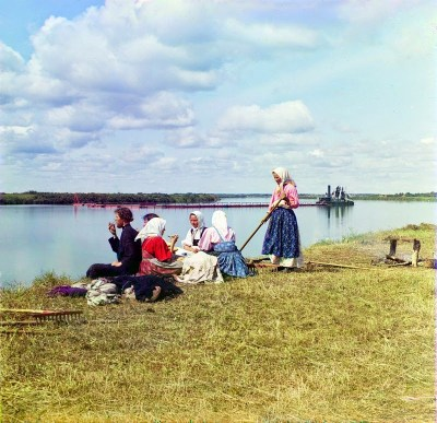 Rare Color Photos of People of the Russian Empire, ca. 1910s (16)