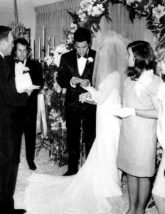 Elvis and Priscilla's Wedding May 1, 1967 (9)