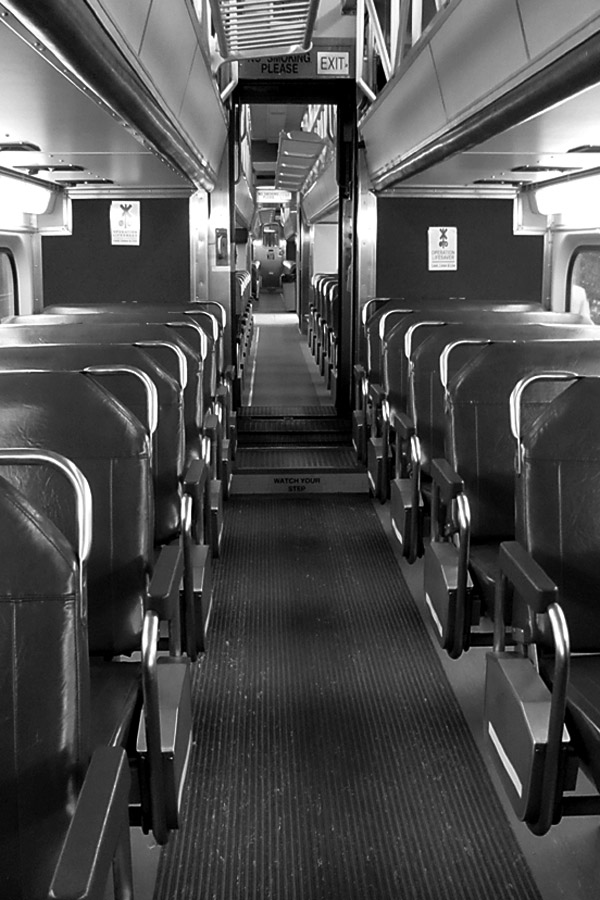 Another Metra shot - the colors were strange, so I monochromed it