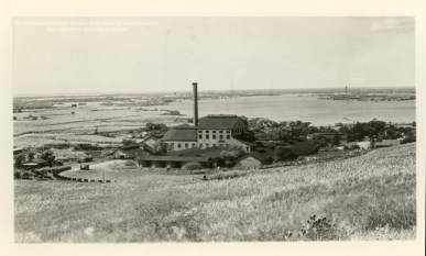 14-1-14-17 =aiea mill looking toward Pearl Harbor- Kamehameha Schools Archives