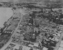 1960-Hilo-Hilo Waterfront - On May 22, 1960, at 19-11 GMT, an earthquake occurred off the coast of South Central Chile.