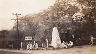 Camp ANdrews entrance
