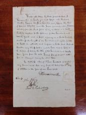 299 year lease for the land, granted to Charlton by Kalanimoku in 1826 (402-2-21)
