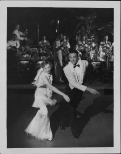 3-Oni Oni, with dancers Hazel Hale and Clayton Ramler at the Royal Hawaiian Hotel-P-4-3-009-Oct 10, 1934