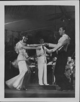 5-Oni Oni, with dancers Hazel Hale and Clayton Ramler at the Royal Hawaiian Hotel-P-4-3-018-Oct 10, 1934