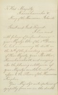 1-Abraham_Lincoln-to-Kamehameha_V-Sorrow_death of IV-Support-February_2,_1864-HSA-1