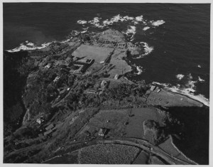 Aerial view of Laupahoehoe-PP-30-2-016-1935