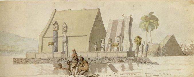 Ahuena_Heiau-Cloris-Sketch-1816