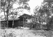 Ainahou Ranch House under construction