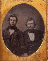 Alexander Cartwright, with apparently Mr. Kerr of Honolulu and friend of Cartwright-1855