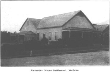 Alexander House Settlement