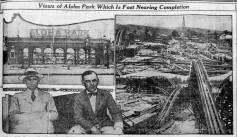 Aloha Park-Hnl Adv, August 20, 1922
