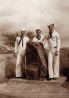Amelia Earhart Memorial on Diamond Head, Oahu, August 1943