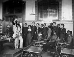 American Indian at Hampton Institute, Virginia