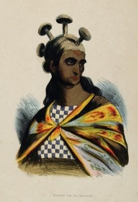 Arago_–_Guerrier_des_Iles_Sandwich-1819