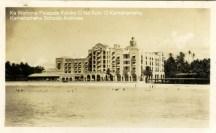 BVD 14-1-31-8 royal hawaian hotel oceanside_150w-KamehamehaSchoolsArchives