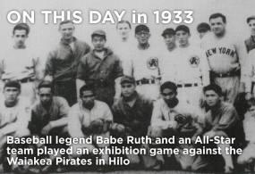 Babe Ruth and Waiakea Baseball Team-Oct_29,_1933-StarAdv
