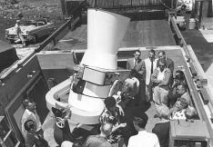 Baker-Nunn Satellite Tracking Camera was dedicated on August 2, 1958