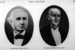 Benjamin and Mary Parker