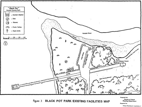 Black Pot Park-Facilities-map