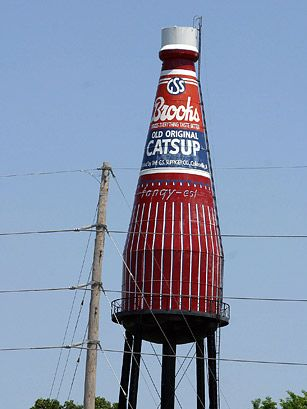Brooks-World's Largest Bottle of Catsup, IL