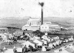 C. Brewer's Honolulu plantation mill (1898-1946) located at 'Aiea, O'ahu, ca. 1902