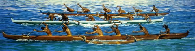 Canoe_Race-(HerbKane)