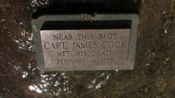 Captain Cook Marker