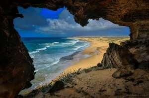 Cave at Moomomi Preserve, Molokai