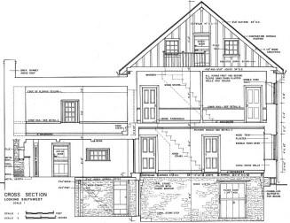 Chamberlain House-Cross Section