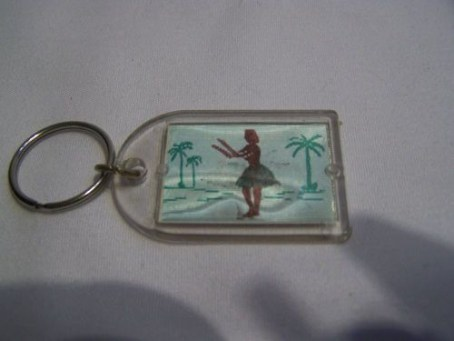 Club Jetty Hologram Key Chain-front