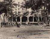 Coconut Grove during the hotel's construction (HHF) (1925)
