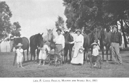 Cooke Family-Horses-1913-Cooke