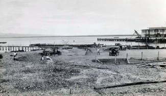 Coral supply for Hilo Airport, 1927