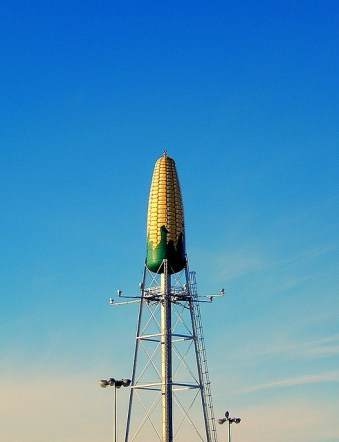 Corn Cob Water Tower - Seneca Foods (Libby's)-Rochester, Minnesota.