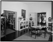 DRAWING ROOM, LIBRARY ON LEFT, LOOKING SOUTHWEST-LOC