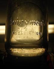 Dairymen's Association-milk bottle