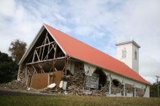 Damage to Kalahikiola Church in 2006 earthquake