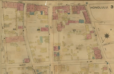 Downtown and Vicinity-Dakin-Fire Insurance- 03 -Map-1899-portion-EO Hall & Son noted