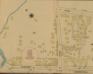 Downtown and Vicinity-Dakin-Fire Insurance- 10-Map-1891-portion