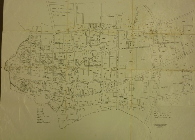 Downtown_Honolulu-Land_Commision_Awards-Map-1847
