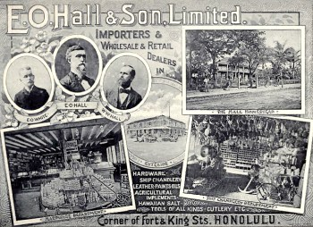 EO Hall and Son Advertisement